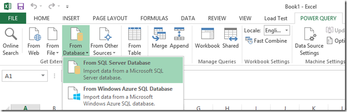 how to use e power in excel
