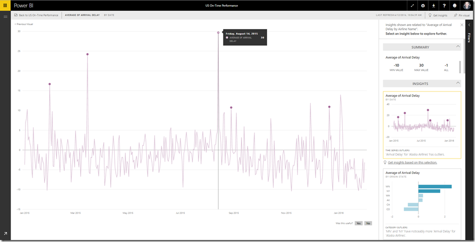 1a537b9d b1d5 41db 806b c07dc26c0c5e Find more insights in your Power BI dashboards with Quick Insights
