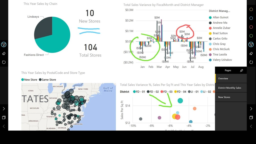 78e8475e fab2 43e2 8cda dfb3c0e1f0ae Present your data in style with the Power BI app for Surface Hub