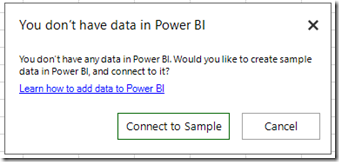 e23f5981 3846 4185 8161 387cc01b3252 Connect and analyze Power BI data directly from Excel, with the July update of Power BI publisher for Excel
